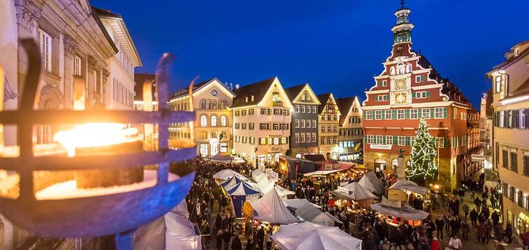 Mittelalterlicher Weihnachtsmarkt.Mittelalterlicher Weihnachtsmarkt